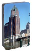 River Walk View Photo Portable Battery Charger