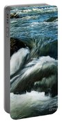 River With Rapids Portable Battery Charger