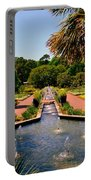 Botanical Gardens Portable Battery Charger by Lisa Wooten