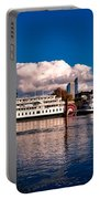 Riverboats Of Sacramento Portable Battery Charger