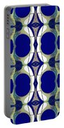 Riverdale Blue Green Portable Battery Charger