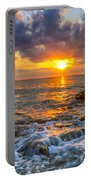 Riviera Beach Sunrise  Portable Battery Charger