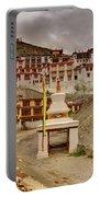 Rizong Monastery Ladakh Jammu And Kashmir India Portable Battery Charger
