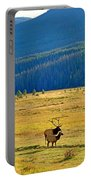 Rmnp Plains In Autumn Portable Battery Charger