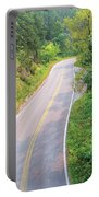 Road In The Black Hills Portable Battery Charger