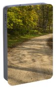 Road In Woods Autumn 3 A Portable Battery Charger