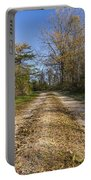 Road In Woods Autumn 4 A Portable Battery Charger