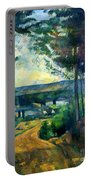 Road Leading To The Lake, By Paul Cezanne, Circa 1880, Kroller-m Portable Battery Charger