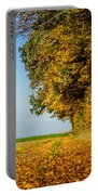Road Of Leaves Portable Battery Charger