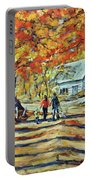 Road Of Life  Fine Art Portable Battery Charger