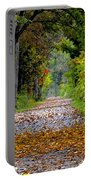 Road To Autumn Portable Battery Charger