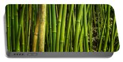 Road To Hana Bamboo Panorama - Maui Hawaii Portable Battery Charger