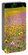 Roadside Flower Garden Portable Battery Charger