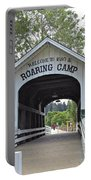 Roaring Camp Covered Bridge Portable Battery Charger