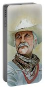 Robert Duvall As Augustus Mccrae In Lonesome Dove Portable Battery Charger