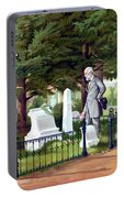 Robert E. Lee Visits Stonewall Jackson's Grave Portable Battery Charger