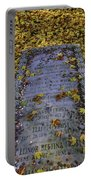 Robert Frosts Grave Portable Battery Charger