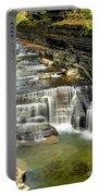 Robert H. Treman State Park Gorge Upper Falls Portable Battery Charger