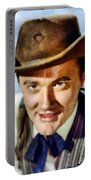 Robert Vaughn, Vintage Actor Portable Battery Charger