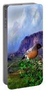 Robin Feeding Baby Robin Portable Battery Charger