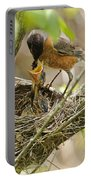 Robin Feeding Young Portable Battery Charger