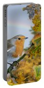 Robin On Oak Branch Portable Battery Charger