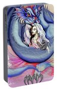 Robot Dragon Lady Portable Battery Charger