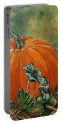 Rochester Pumpkin Portable Battery Charger