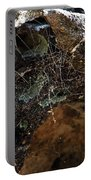 Rock Abstract With A Web Portable Battery Charger