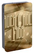 Rock And Roll 1968 Portable Battery Charger