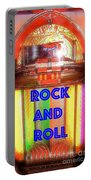Rock And Roll Jukebox Portable Battery Charger