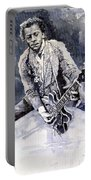 Rock And Roll Music Chuk Berry Portable Battery Charger