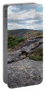 Rock Boundaries On Casecade Mountain Keene Ny New York Portable Battery Charger