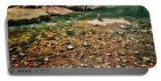 Rock Cairn At Buddha Beach - Sedona Portable Battery Charger
