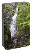 Rock Climbers At Graymare's Tail Falls Portable Battery Charger