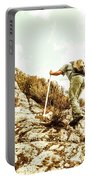 Rock Climbing Mountaineer Portable Battery Charger