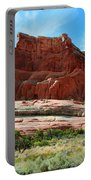 Rock Formation Of La Sal Mountains Portable Battery Charger