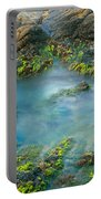 Rock Formations In The Sea, Bird Rock Portable Battery Charger