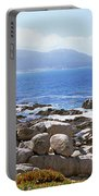 Rock Formations On The Coast, 17-mile Portable Battery Charger