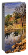Rock House At Granite Dells Portable Battery Charger by Priscilla Burgers