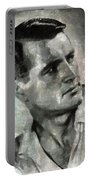 Rock Hudson Hollywood Actor Portable Battery Charger