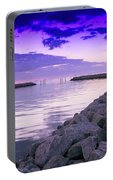 Rock Jetty Sunrise Portable Battery Charger