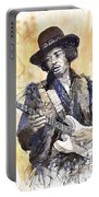 Rock Jimi Hendrix 02 Portable Battery Charger