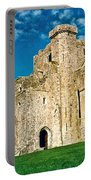 Rock Of Cashel Ireland Portable Battery Charger