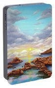 Rock Pools, Seascape Portable Battery Charger