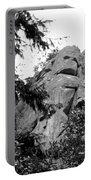 Rock Spirits At Yosemite B And W Portable Battery Charger
