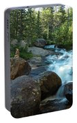 Rock Stack Falls Portable Battery Charger