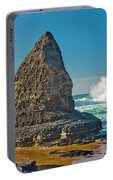 Rock Stack On The Costa Viicentina, Portugal Portable Battery Charger