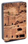 Rock Village In Petra Portable Battery Charger