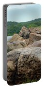 Rock Wall Portable Battery Charger